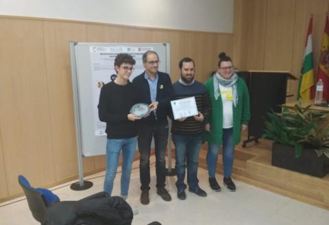 Primer Premio Pósteres Cristalazación